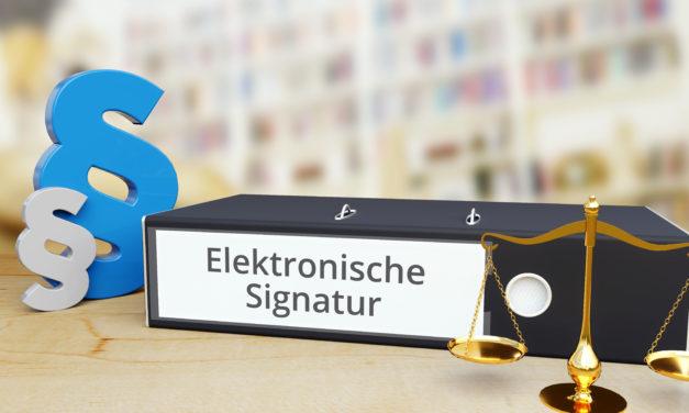 """Projekt """"Digitale Signaturen"""" bei der Helaba"""