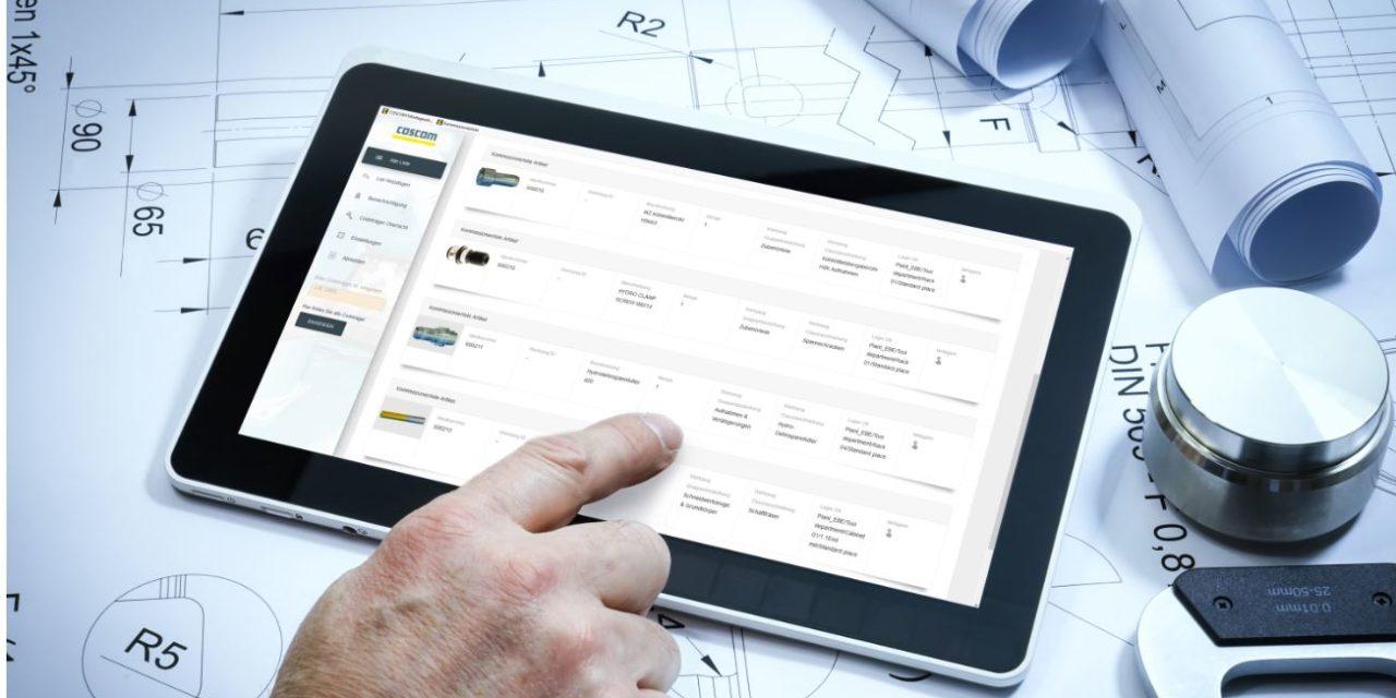 Kommissionier-App für den mobilen Einsatz