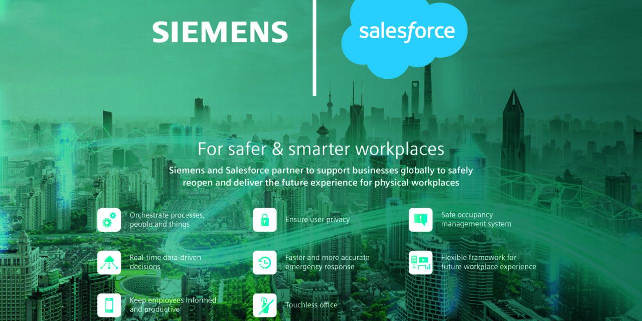 Siemens und Salesforce kooperieren für sichere Arbeitsumgebungen