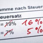 Automatisch auf neue Mehrwertsteuersätze umgestellt