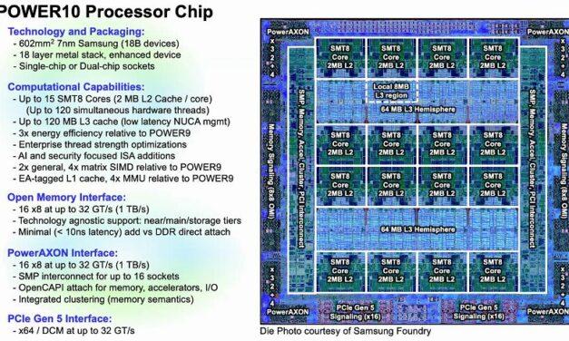 Erster Blick auf die Prozessorarchitektur POWER10