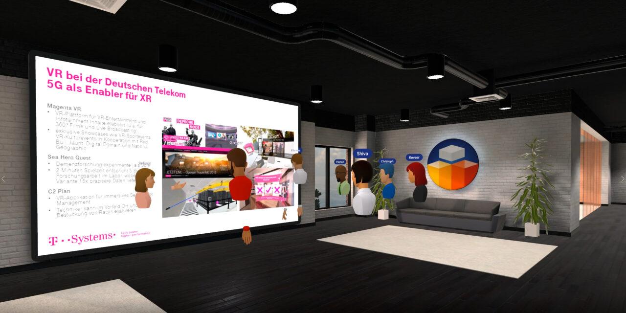 Digitales Zusammenkommen in der neuen Arbeitswelt