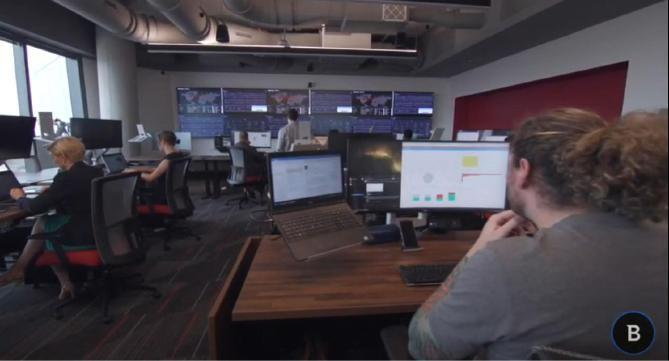 Proaktives Handeln, Suche nach Cyber-Bedrohungen und 24/7-Verfügbarkeit der Dienste